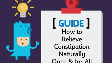 How to Relieve Constipation Naturally Once & for All