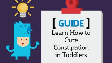 Learn How to Cure Constipation in Toddlers