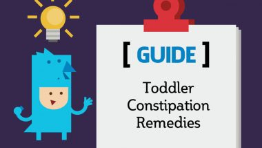 Toddler Constipation Remedies